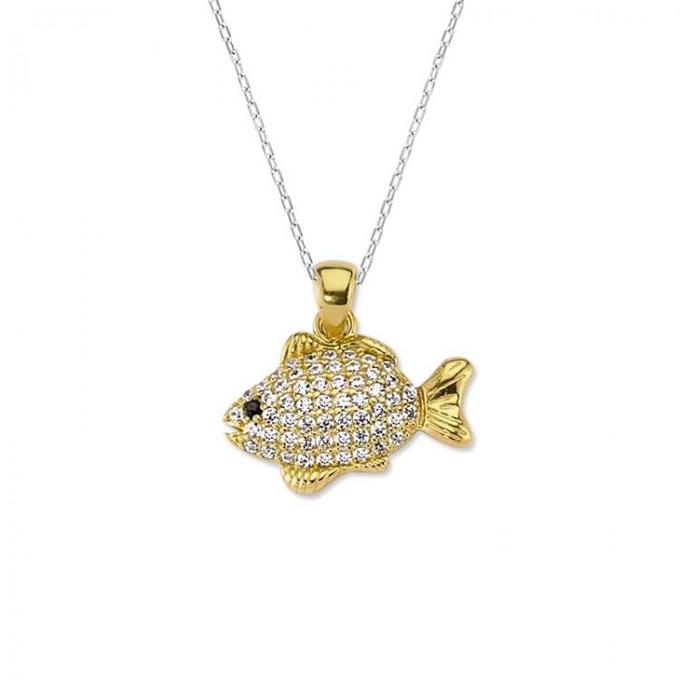 Altın Balık Kolye Ucu